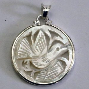 Silver with Mother of Pearl